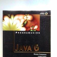 Libros de segunda mano: PROGRAMACIÓN JAVA 6 CON CD CADENHEAD Y LEMAY. Lote 156216266