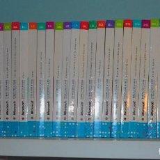 Libros de segunda mano: COLECCIÓN COMPUTER AND WEB DE MICROSOFT Y EL MUNDO DVD 30 NÚMEROS EL CURSO DEFINITIVO 2009. Lote 156639058