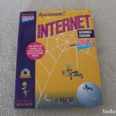 Libros de segunda mano: INTERNET PARA TORPES SEGUNDA EDICION ANAYA ILUSTRACIONES FORGES. Lote 156650938
