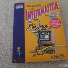 Libros de segunda mano: INFORMATCA PARA TORPES ANAYA ILUSTRACIONES FORGES. Lote 156651186