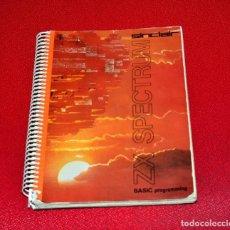 Libros de segunda mano: SINCLAIR SPECTRUM ZX , BASIC PROGRAMMING , MANUAL 1º EDICION 1982. Lote 156874342