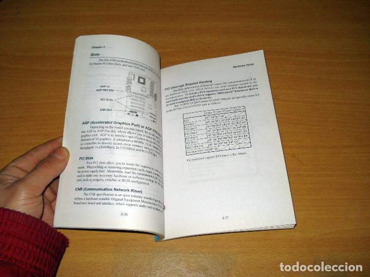 Libros de segunda mano: K7T266 PRO (MS-6380) ATX MAINBOARD USER'S MANUAL. MICROSTAR. ENGLISH - Foto 3 - 157007810