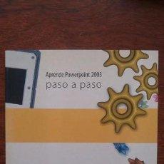 Libros de segunda mano: POWERPOINT 2003 TECNOBOOK NUEVO SIN USO. Lote 157383290