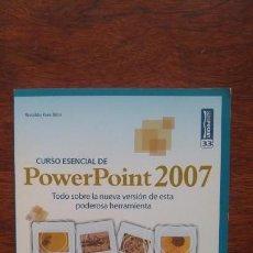 Libros de segunda mano: POWERPOINT 2007 CURSO ESENCIAL SERIE POCKET 33 NUEVO SIN USO. Lote 157383486