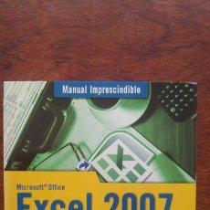 Libros de segunda mano: EXCEL 2007 MICROSOFT OFFICE +CD VERSION PRUEBA OFFICE PROFESIONAL 2007 NUEVO SIN USO ANAYA. Lote 157383922