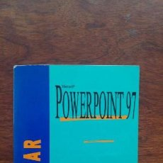 Libros de segunda mano: MICROSOFT POWERPOINT 1997 EDICIONES ENI. Lote 157385362