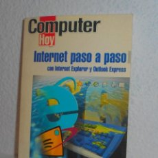 Libros de segunda mano - COMPUTER HOY INTERNET PASO A PASO EDICIONES HOBBY PRESS 2002 - 158790350