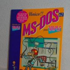 Libros de segunda mano: MS-DOS 6.2 PARA TORPES EDICIONES ANAYA 1993. Lote 158932358