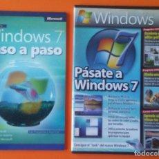 Libros de segunda mano: WINDOWS 7 PASO A PASO GUIA COMPLETA AÑO 2009 INCLUYE CD-ROM. Lote 195062660