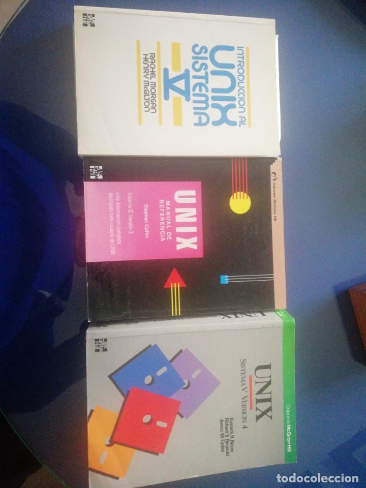 UNIX V 3 LIBROS (Libros de Segunda Mano - Informática)