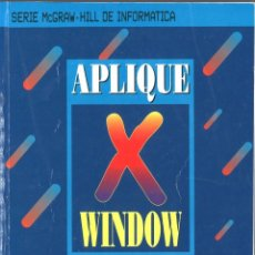Libros de segunda mano: APLIQUE WINDOW. MCGRAW HILL. 1993. Lote 160934322