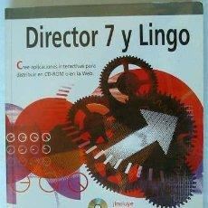 Libros de segunda mano: DIRECTOR 7 Y LINGO PARA MACINTOSH - PHIL GROSS - ANAYA 1999 - INCLUYE DISCO - VER INDICE. Lote 161490094