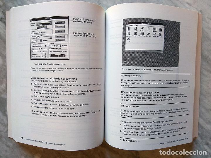 Libros de segunda mano: Lote 3 manuales: Guía del usuario IBM PC DOS, DOS 3.30 Guía del usuario, Iniciación al DOS 4.00 - Foto 4 - 162342910