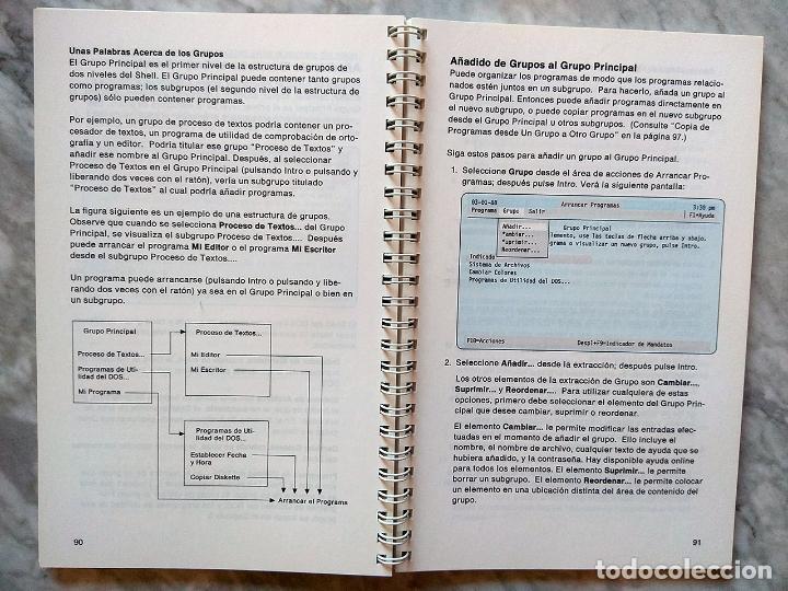 Libros de segunda mano: Lote 3 manuales: Guía del usuario IBM PC DOS, DOS 3.30 Guía del usuario, Iniciación al DOS 4.00 - Foto 14 - 162342910
