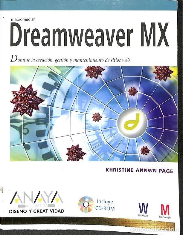 DREAMWEAVER MX (Libros de Segunda Mano - Informática)