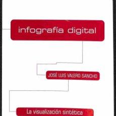 Libros de segunda mano: INFOGRAFÍA DIGITAL. Lote 162734858