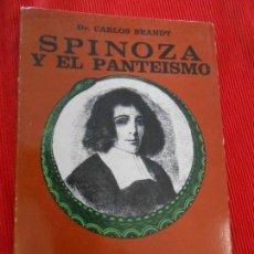 Libri di seconda mano: SPINOZA Y EL PANTEISMO . Lote 163031326
