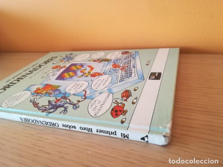 Libros de segunda mano: Mi primer libro de ordenadores. Luca Novelli. Anaya. 1985. - Foto 2 - 182723118