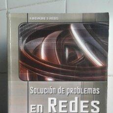Livros em segunda mão: SOLUCIÓN DE PROBLEMAS EN REDES, ALAN SUGANO, MULTIMEDIA ANAYA. Lote 165883114