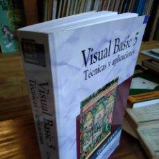 Libros de segunda mano: VISUAL BASIC 5. TÉCNICAS Y APLICACIONES.. Lote 166414698