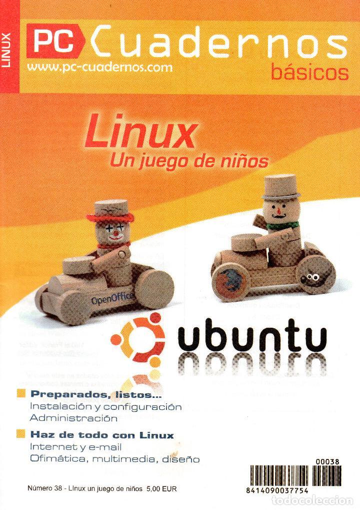 PC CUADERNOS - LINUX (Libros de Segunda Mano - Informática)