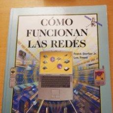 Livros em segunda mão: CÓMO FUNCIONAN LAS REDES (FRANK DERFLER JR. / LES FREED) ANAYA MULTIMEDIA. Lote 166718570