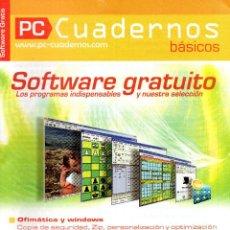 Libros de segunda mano: PC CUADERNOS - SOFTWARE GRATUITO. Lote 166862968