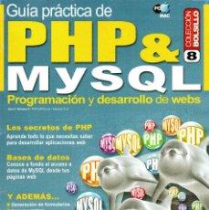 Libros de segunda mano: GUÍA PRÁCTICA DE PHP & MYSQL. Lote 166887604