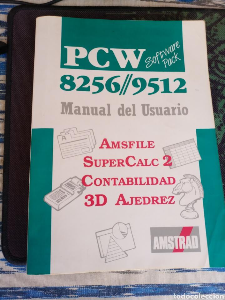 AMSTRAD PCW 8256/9512 MANUAL DEL USUARIO (AMSFILE, SUPERCALC 2, CONTABILIDAD, 3D AJEDREZ ) 1988 (Libros de Segunda Mano - Informática)