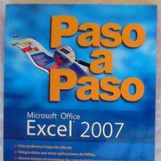 Libros de segunda mano: PASO A PASO EXCEL 2007 - GUY HART-DAVIS - MCGRAW-HILL PROFESIONAL - VER DESCRIPCIÓN. Lote 167506960