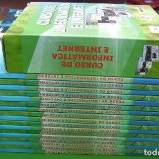 Libros de segunda mano: CURSO DE INFORMATICA E INTERNET - 17 LIBROS + 17 CDS. Lote 168373580