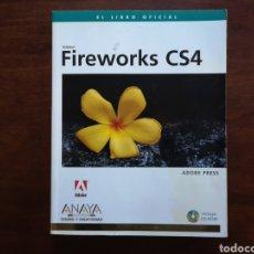 Libros de segunda mano: ADOBE FIREWORKS CS4 DE ANAYA MULTIMEDIA DISEÑO Y CREATIVIDAD. Lote 168498568