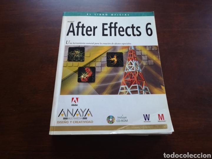 AFTER EFFECTS 6 DE ANAYA MULTIMEDIA (Libros de Segunda Mano - Informática)