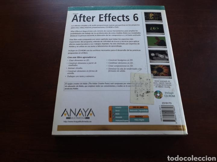 Libros de segunda mano: After Effects 6 de Anaya Multimedia - Foto 2 - 168623594