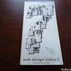 Libros de segunda mano: WEB DESIGN INDEX 7 THE PEPIN PRESS. Lote 168962085
