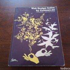 Libros de segunda mano: WEB DESIGN INDEX BY CONTENT 02 THE PEPIN PRESS. Lote 169009834