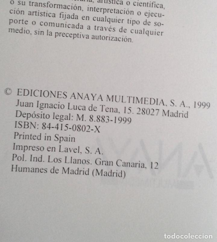 Libros de segunda mano: VISUAL BASIC 6. GUÍA PRÁCTICA PARA USUARIOS. ED ANAYA. FRANCISCO CHARTE OJEDA - Foto 2 - 169086032