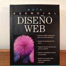 Libros de segunda mano: GUÍA ESENCIAL DISEÑO WEB. LYONS, CHARLES J. PRENTICE HALL, PEARSON EDUCACIÓN, 2001. ISBN 0130321613.. Lote 170043476