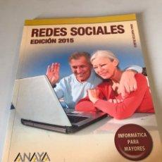 Libros de segunda mano: REDES SOCIALES - EDICION 2015. Lote 170511272