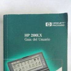 Libros de segunda mano: HP 200LX GUÍA DEL USUARIO HEWLETT PACKARD. Lote 171069213