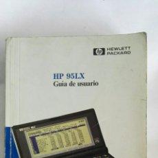 Libros de segunda mano: HP 95LX GUÍA DE USUARIO HEWLETT PACKARD. Lote 171139324