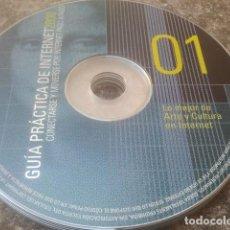 Libros de segunda mano: GUÍA PRÁCTICA DE INTERNET 2000 - 6 CD-ROM. Lote 171496635