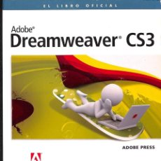 Libros de segunda mano: DREAMWEAVER CS3. Lote 171584513