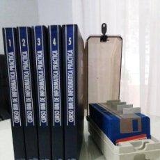 Libros de segunda mano: CURSO IBM DE INFORMÁTICA PRÁCTICA. COMPLETO. 5 TOMOS Y 55 DISQUETES. 1993.. Lote 171609820
