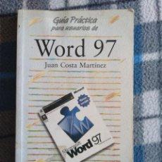 Libros de segunda mano: WORD 97. Lote 171612674
