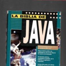Libros de segunda mano: LA BIBLIA DE JAVA - LIBRO PROGRAMACION. Lote 171673519