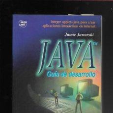 Libros de segunda mano: JAVA GUIA DE DESARROLLO +CD. Lote 171677810