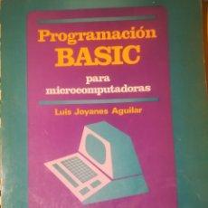 Libros de segunda mano: PROGRAMACIÓN BASIC. Lote 171740943