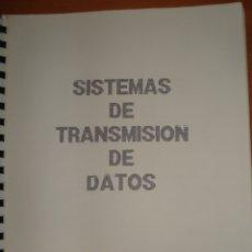 Libros de segunda mano: APUNTES SISTEMAS DE TRANSMISIÓN DE DATOS. UNIVERSIDAD MÉRIDA. CURSO 1990-91. EXÁMEN FINAL.. Lote 171813139