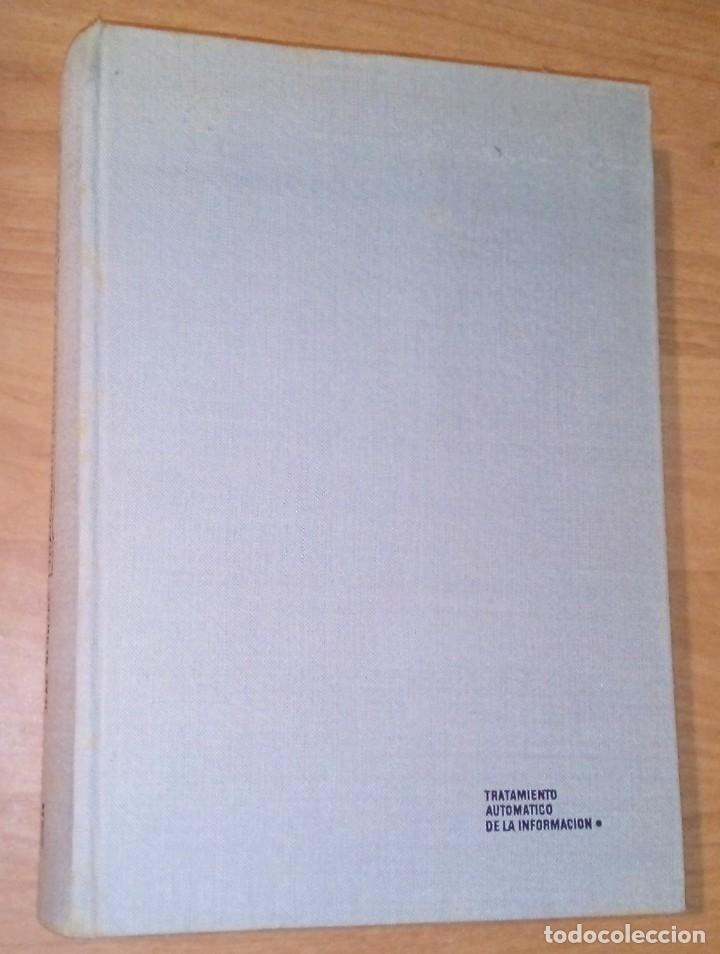 JEAN BERNARD - TRATAMIENTO AUTOMÁTICO DE LA INFORMACIÓN - AGUILAR, 1973 (Libros de Segunda Mano - Informática)